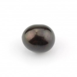Genuine Freshwater Pearl Very big half drilled Pearl 12 mm Black color Natural jewelery findings to create  pendant 2