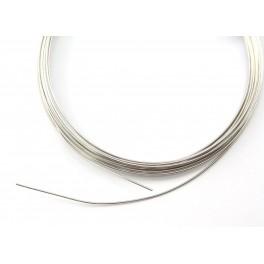 925 Solid Sterling Silver - Length 1 meter Hard wire diameter 0.64 mm
