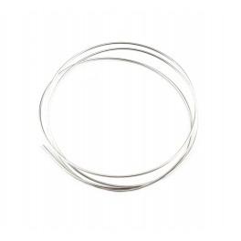 Fils en Argent Massif 925 Fils dur diamètre 0,7 mm 21 gauge 50 centimètres Composant de bijouterie pour vos creations