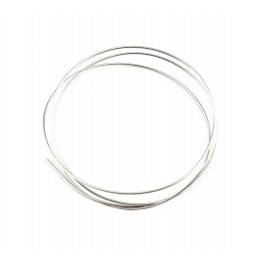 Hard wire 925 Solid Sterling Silver Diameter 0.7 mm 21 gauge Length 50 centimeters Jewelry findings for your creations