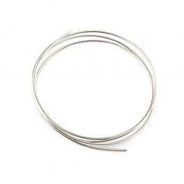 Fils en Argent Massif 925 Fils dur diamètre 0,8 mm 20 gauge 50 centimètres Base de bijouterie pour vos creations