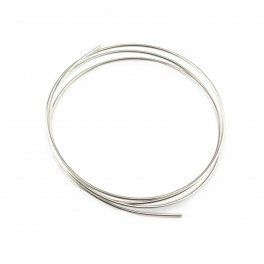 Hard wire 925 Solid Sterling Silver Diameter 0.8 mm 20 gauge Length 50 centimeters Jewelry findings for your creations